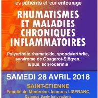Rencontre annuelle Rhumatismes et Maladies Chroniques Inflammatoires