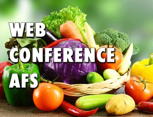 Nouvelle webconférence « Pratiques alimentaires dans la SA Post Covid »