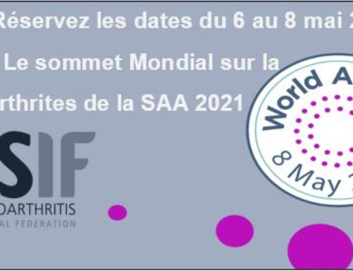 Sommet mondial sur la spondyloarthrite 2021