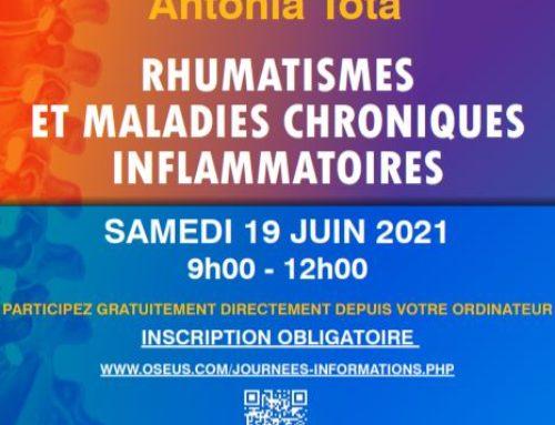 Journée Antonia TOTA, 9° édition